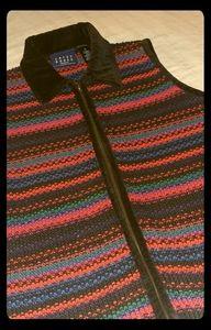NWOT Crazy Horse Knit Vest
